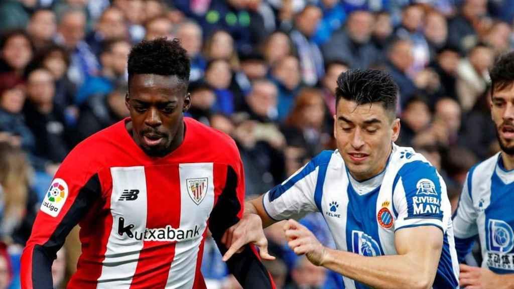 Iñaki Williams, contra el Espanyol