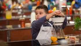 Albert en 'MasterChef Junior 7' (RTVE)