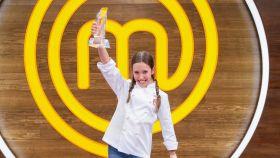 Lu, de 11 años, ha sido la ganadora de la séptima edición de 'MasterChef Junior'.