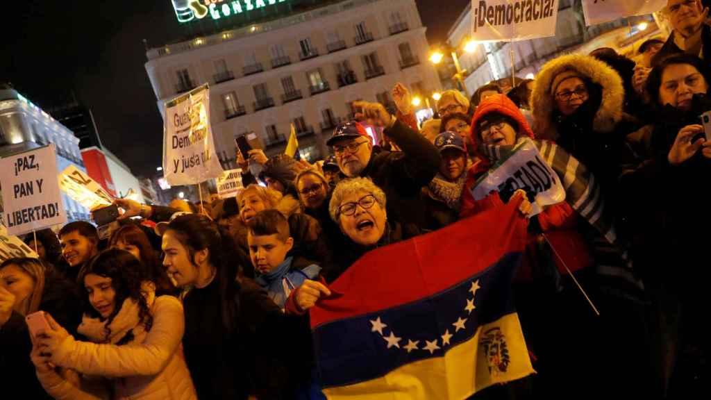 Guaidó en Madrid