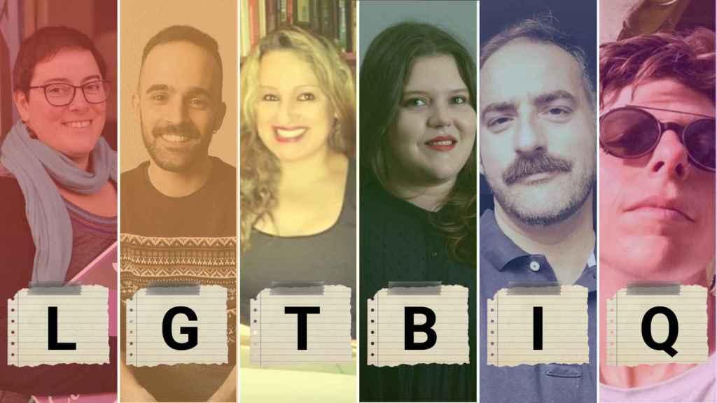 Cristina, Ángel, Niurka, María José, Gabriel y Cleia ponen cara a las siglas LGTBIQ+.