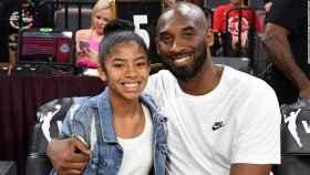 Kobe Bryant junto a su hija Gianna Maria