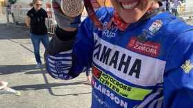 Sara García, tras terminar el Rally Dakar 2020