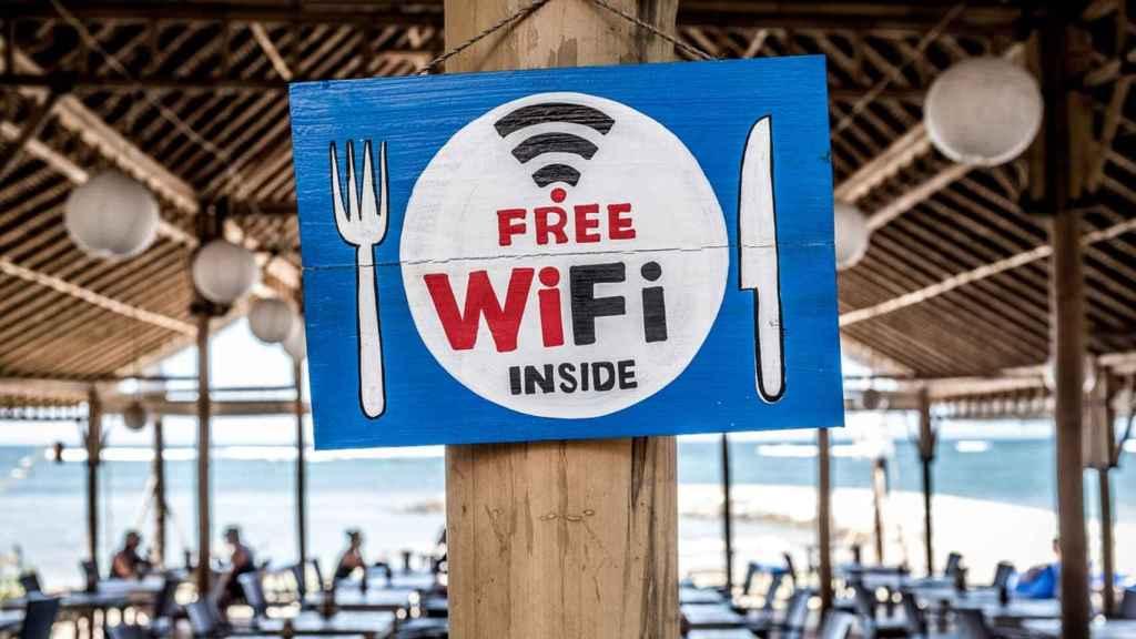 WiFi gratuito.