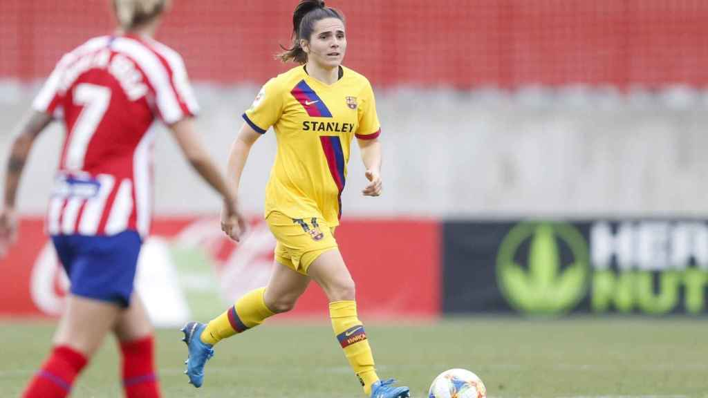 Atlético de Madrid femenino - Barcelona femenino