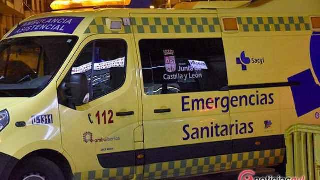 Zamora ambulancia noche 2 696x464