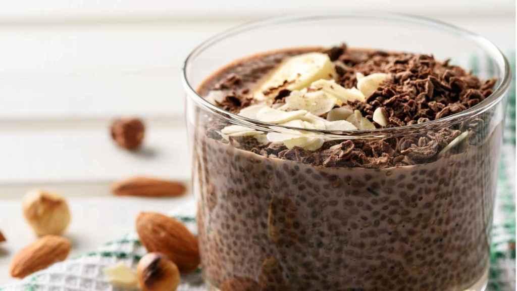 Una crema de chocolate elaborada a base de chía.
