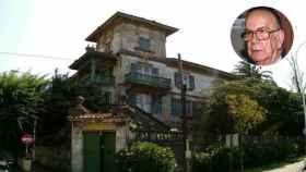 El palacete en A Coruña donde residió Camilo José Cela, en un montaje de JALEOS.