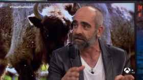 Luis Tosar, en 'El Hormiguero'.