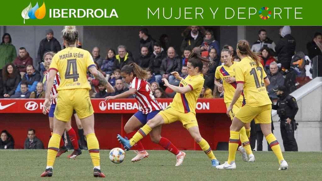 Empate entre el Barcelona y el Atlético
