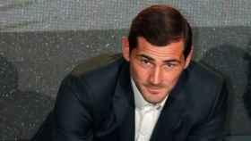 Iker Casilla durante una gala