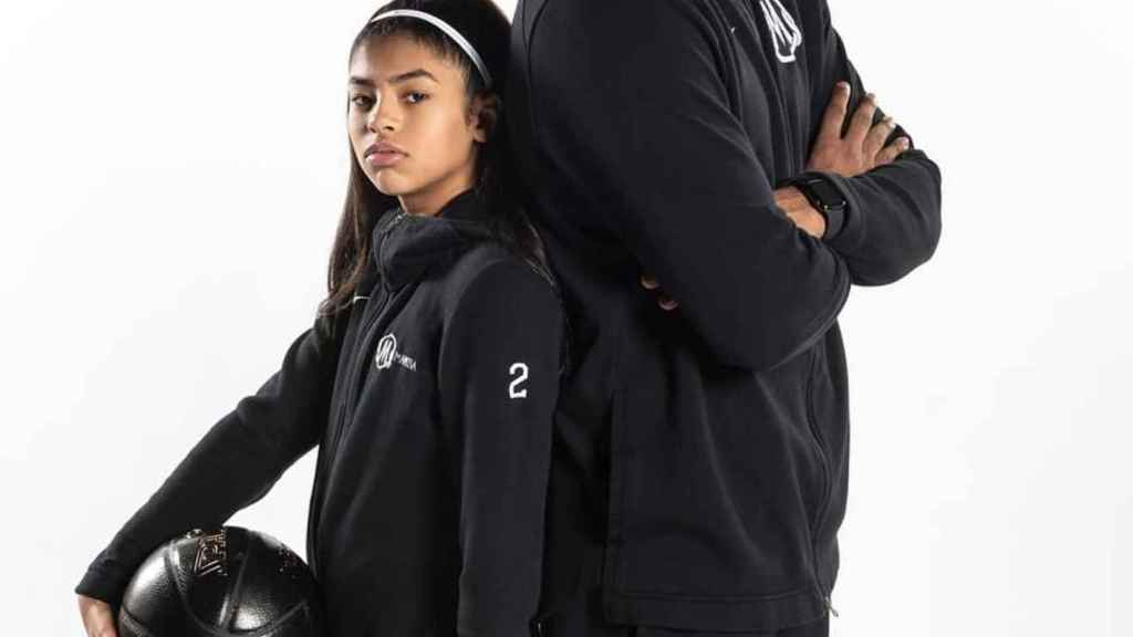 Gianna Maria y Kobe Bryant