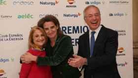 Maite Costa, junto con la ministra Teresa Ribera.