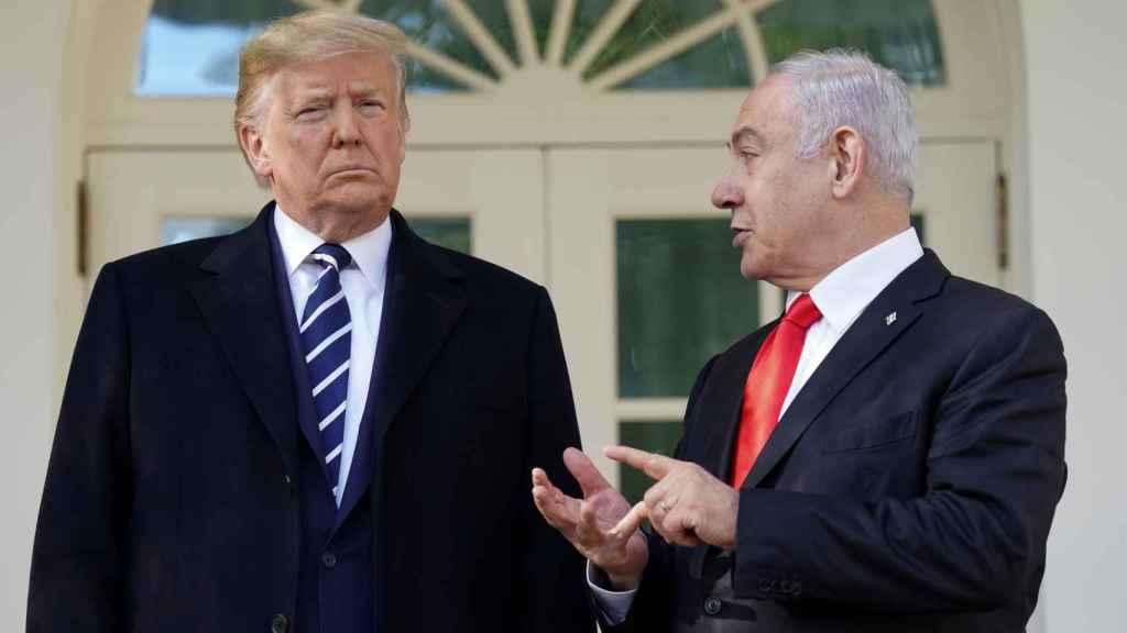 Trump y Netanyahu este lunes en la Casa Blanca