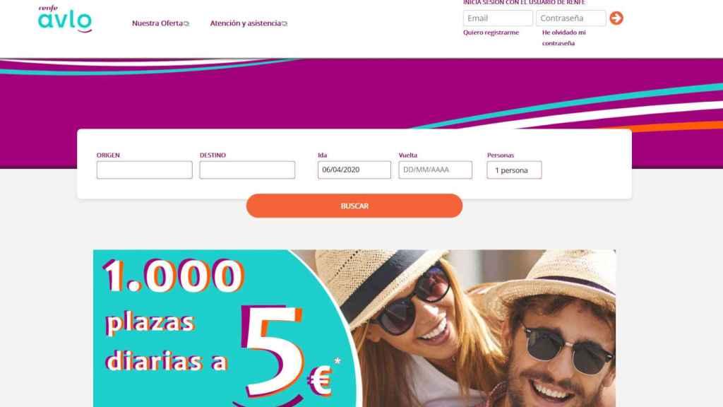 Web de Avlo