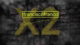 Francisco Franco en el logo de Poco.