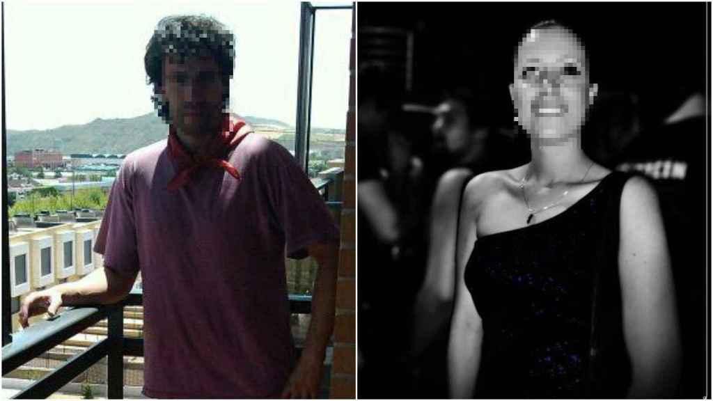 Javier y Adriana, padre y madre de la niña muerta en hotel de Logroño.