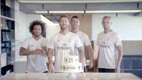 Felicitación del Real Madrid.