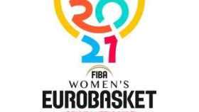 Logo del Eurobasket femenino de 2021