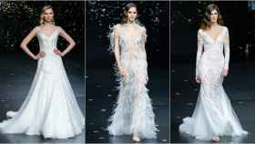 Desfile de Pronovias en la Barcelona Bridal Fashion Week.