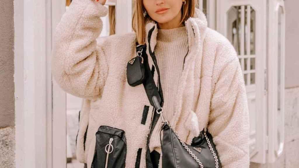 Alexandra Pereira ha mostrado su mejor aliado para el frío invernal.