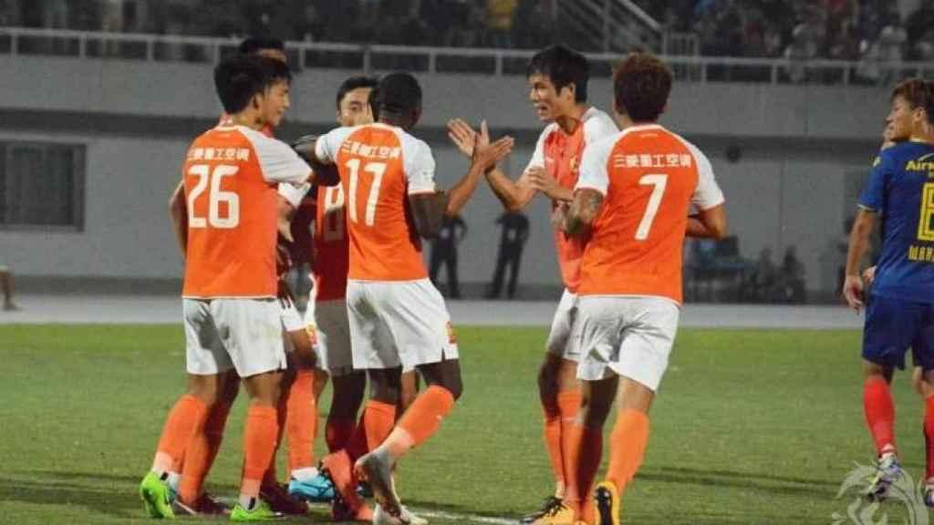 Jugadores del Wuhan Zall