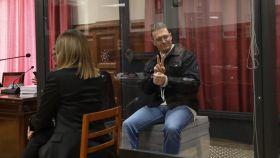Norbert Feher, conocido como Igor el Ruso, este martes ante la Sala Única de la Audiencia Provincial de Teruel.