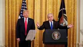 Trump y Netanyahu, este martes en la Casa Blanca