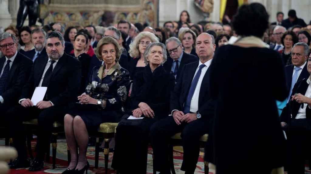 La reina Sofía ha presidido el concierto que conmemora el 75 aniversario de la liberación de Auschwitz.