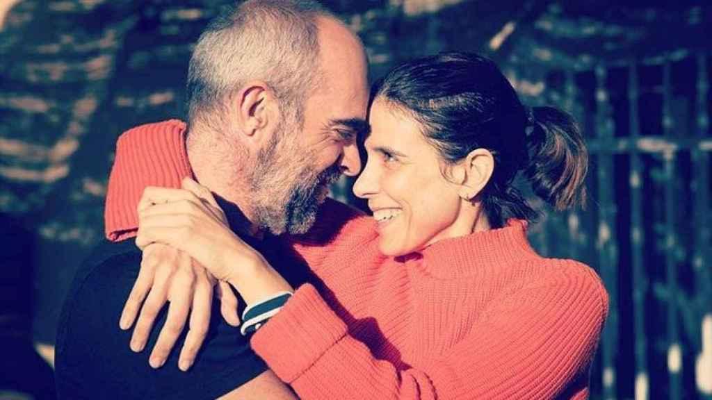 Luis Tosar y Luisa Mayol han formado una familia con sus dos hijos.