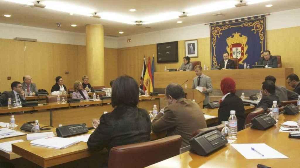 Pleno de la Asamblea de Ceuta.