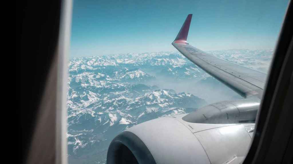 Ventanilla de avión