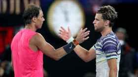 Rafa Nadal y Dominic Thiem