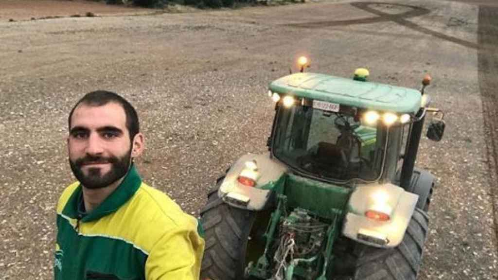 Alejandro, agricultor soriano.
