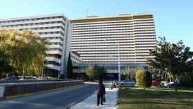 La fachada del Hospital Gómez Ulla de Madrid.