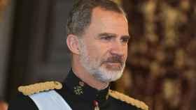 El rey Felipe VI , en uno de sus últimos eventos públicos.