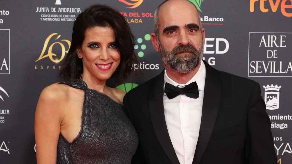 María Luisa Mayol y Luis Tosar, en la alfombra roja de los Goya.