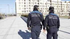 Agentes de la Policía Local de Getafe