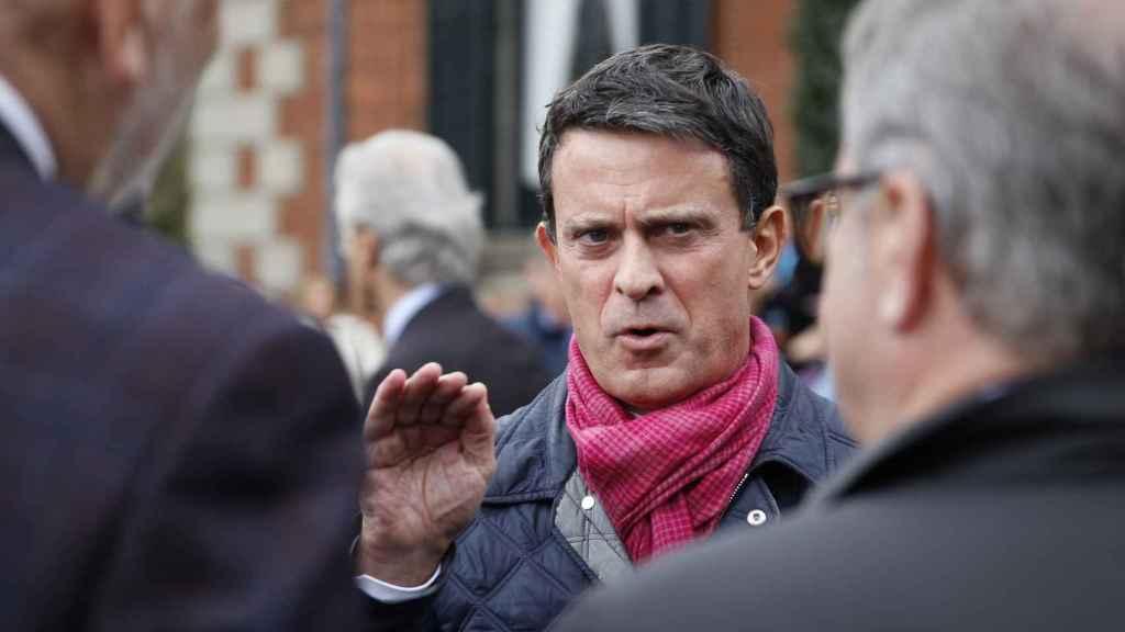 El líder de la plataforma BCN Canvi, Manuel Valls.