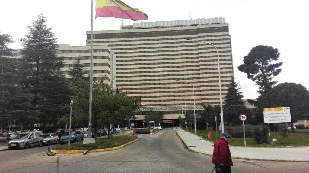 La fachada del Hospital Gómez Ulla de Madrid