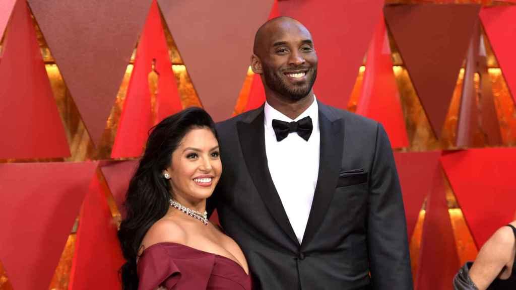 Vanessa junto a su esposo fallecido, Kobe Bryant