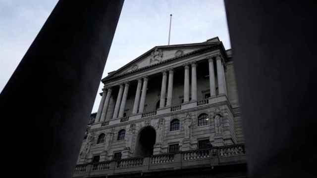 La sede del Banco de Inglaterra.