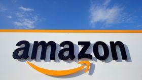 Logo de una sede de Amazon, en una imagen de archivo.