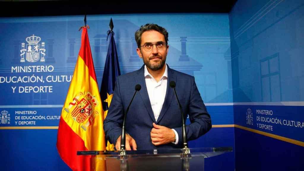 Máximo Huerta dimitió una semana después de su nombramiento.