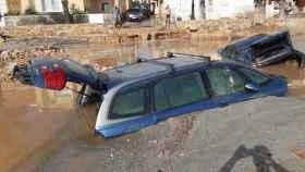 Imágenes de las inundaciones que ha sufrido Los Alcázares en las DANAS de septiembre y diciembre y la borraca Gloria de enero.