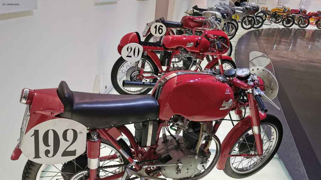 Museo de Ducati en Bolonia.