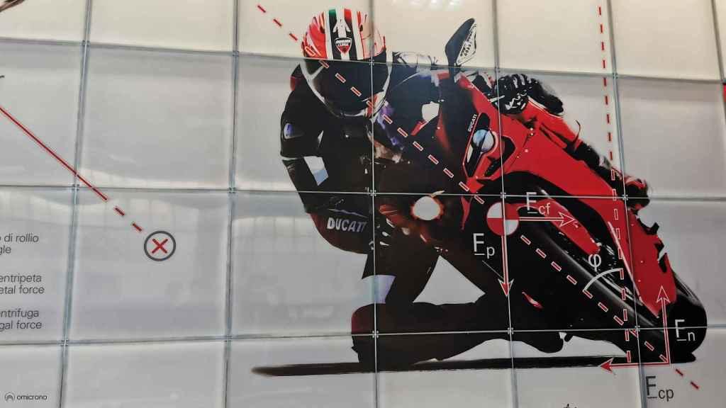 Imagen de la sede de Ducati.
