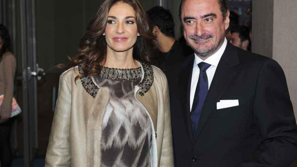Mariló Montero y Carlos Herrera en los premios Ondas 2010.