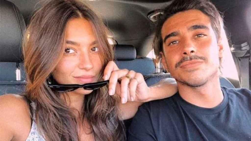 Rocío Crusset y Alberto Herrera en una imagen de su Instagram.