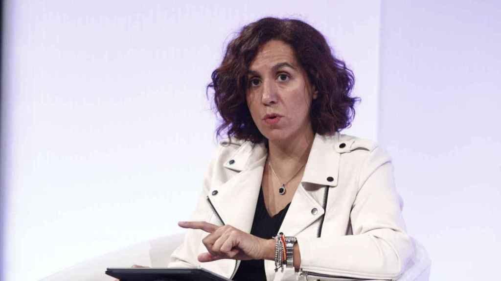 Irene Lozano, secretaria de Estado para el Deporte y presidenta del CSD.